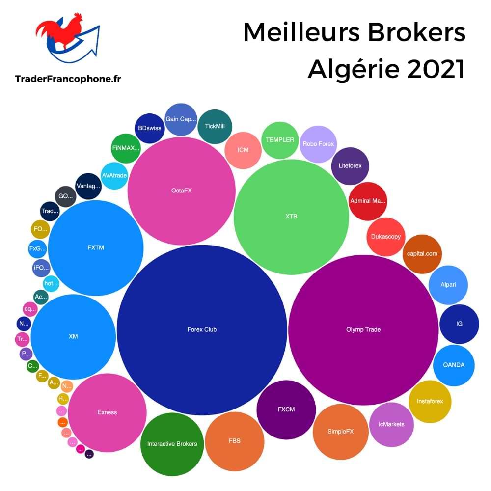 Meilleurs Brokers Algérie