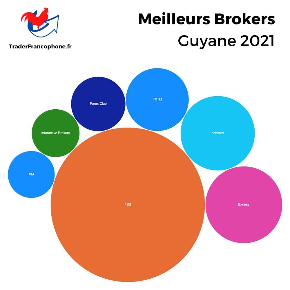 Meilleurs Brokers Guyane