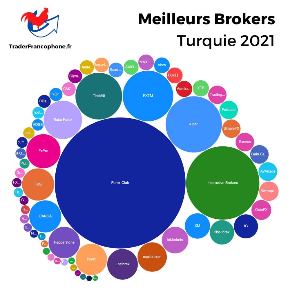 Meilleurs Brokers Turquie