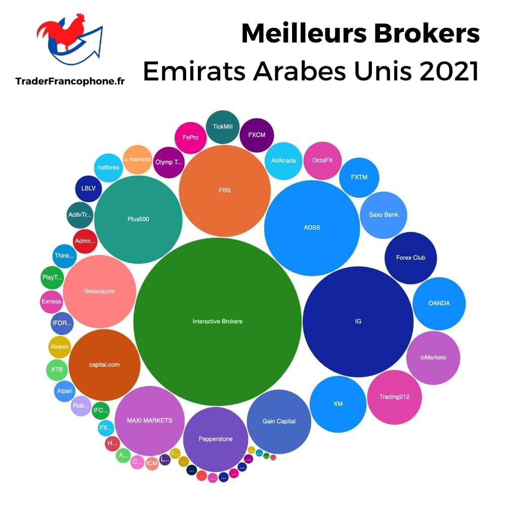 Meilleurs Brokers Emirats Arabes Unis