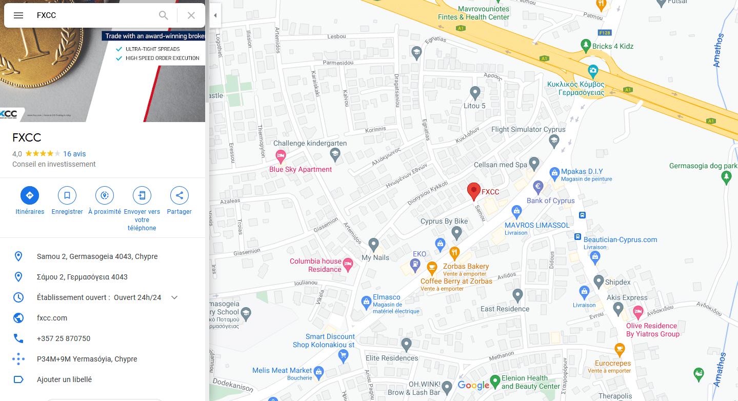FXCC Localisation