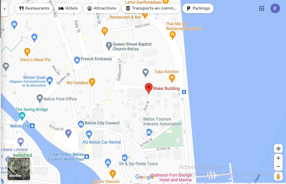 Profiforex avis Localisation