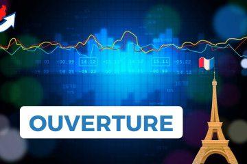 Ouverture Bourse Paris