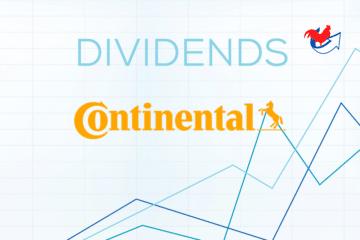 Dividende Continental – Historique et Prévisions