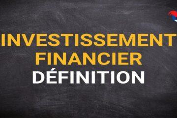 Investissement Financier Définition
